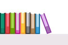 Iconos del logotipo del vector de los libros fijados Fondo de la venta Fotografía de archivo libre de regalías