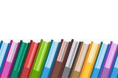 Iconos del logotipo del vector de los libros fijados Fondo de la venta Imagen de archivo