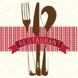 Iconos del menú Foto de archivo libre de regalías