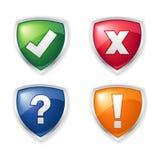 Iconos del mensaje Imagenes de archivo
