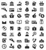 48 iconos del negocio Imagen de archivo