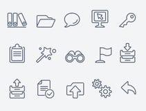 Iconos del ordenador libre illustration