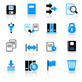 Iconos del ordenador Fotos de archivo