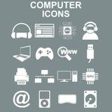 Iconos del ordenador Ejemplo del concepto del vector para el diseño Fotos de archivo