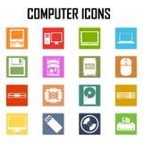 Iconos del ordenador fijados Libre Illustration