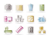 Iconos del ordenador y del Web site