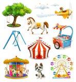 Iconos del patio de los niños