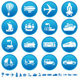 Iconos del progreso del transporte Libre Illustration