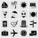 Iconos del recorrido Imagen de archivo libre de regalías