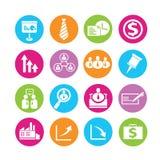 Iconos del recurso humano ilustración del vector