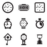 Iconos del reloj libre illustration