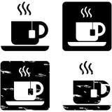 Iconos del té stock de ilustración