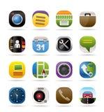 Iconos del teléfono móvil y del ordenador