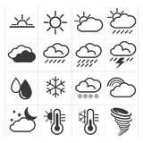 Iconos del tiempo Imagen de archivo