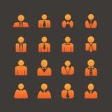 Iconos del usuario Imagenes de archivo