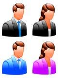 Iconos del utilizador. Fotografía de archivo