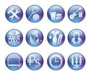 Iconos del vector Imagenes de archivo