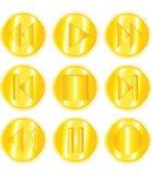 Iconos del vector Fotografía de archivo libre de regalías