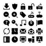 Iconos 2 del vector de la comunicación Fotografía de archivo
