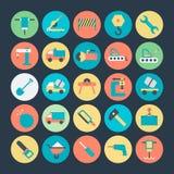 Iconos 1 del vector de la construcción Imagenes de archivo