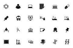 Iconos 2 del vector de la educación Foto de archivo libre de regalías