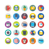 Iconos 8 del vector de la escuela y de la educación libre illustration