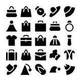Iconos 1 del vector de la moda Imagen de archivo libre de regalías
