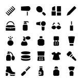 Iconos 5 del vector de la ropa Fotos de archivo