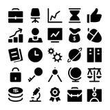 Iconos 1 del vector de las finanzas y del dinero Fotografía de archivo libre de regalías
