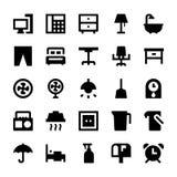 Iconos 3 del vector de los aparatos electrodomésticos Imágenes de archivo libres de regalías