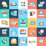 Iconos 2 del vector de los conceptos del negocio Foto de archivo libre de regalías