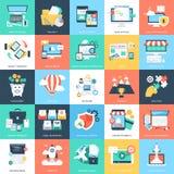 Iconos 1 del vector de los conceptos del negocio Foto de archivo