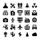 Iconos 2 del vector de Polit Fotografía de archivo