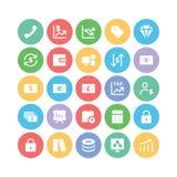Iconos 2 del vector del negocio Imagenes de archivo