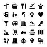 Iconos 3 del vector del turismo y del viaje Fotografía de archivo libre de regalías