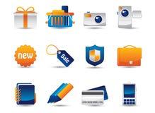 Iconos del vector del Web Imágenes de archivo libres de regalías