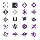 Iconos del vector - elementos 20 Foto de archivo