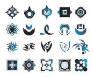 Iconos del vector - elementos 3 Fotos de archivo