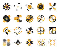 Iconos del vector - elementos 6 Imágenes de archivo libres de regalías
