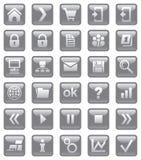 Iconos del Web. Foto de archivo