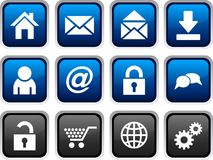 Iconos del Web. Fotografía de archivo