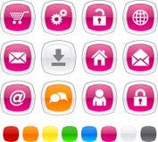 Iconos del Web. Fotografía de archivo libre de regalías