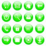 Iconos del Web Fotos de archivo