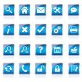 Iconos del Web, botones Imagenes de archivo