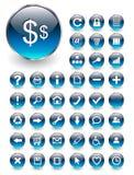 Iconos del Web, botones fijados