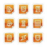 Iconos del Web de la base de datos