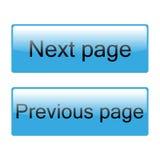 Iconos del web del color del vector Imagen de archivo libre de regalías