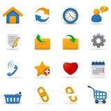Iconos del Web. Parte 2 Foto de archivo libre de regalías