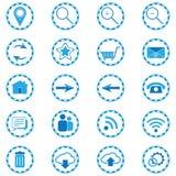 Iconos del web, vector Foto de archivo