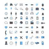 Iconos del Web y del asunto Fotografía de archivo libre de regalías